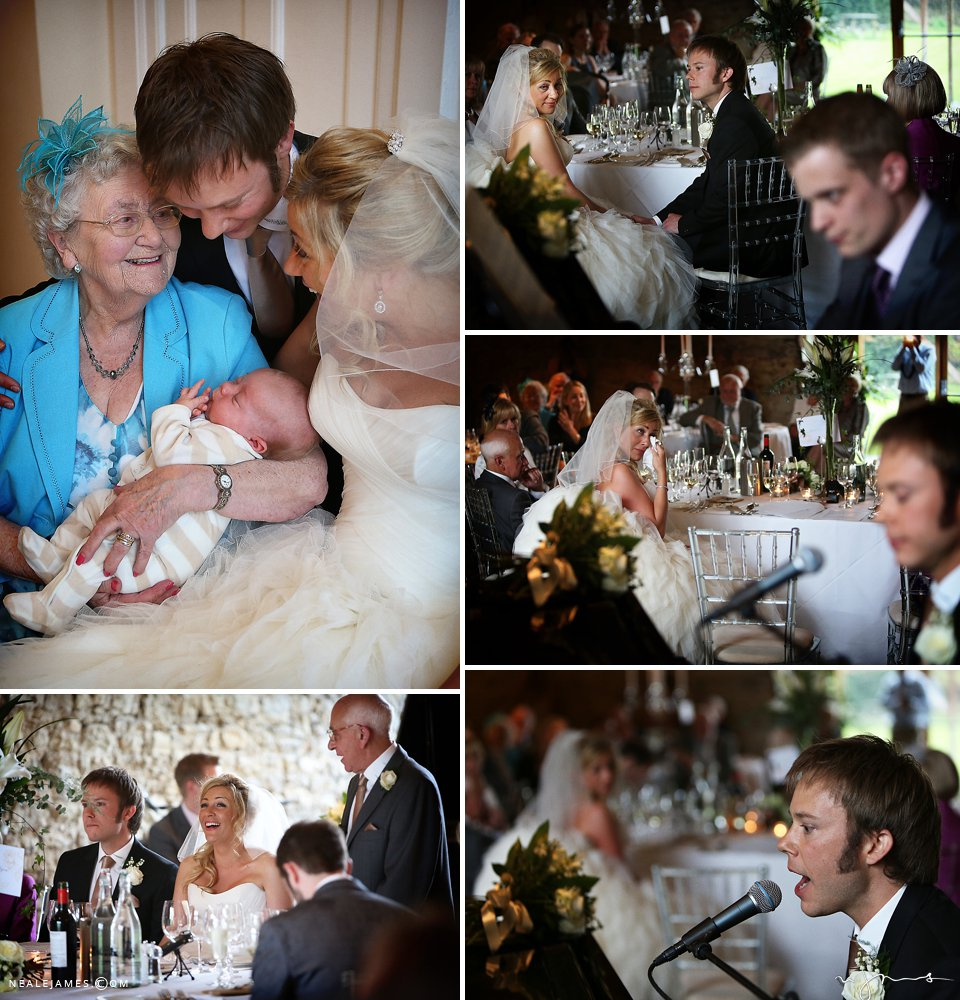A groom's speech at Notley Abbey