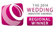 Regional Winner for London and the South East at The Wedding Industry Awards 2014