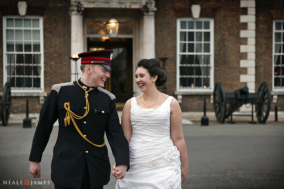 Wedding picture from the HAC in London