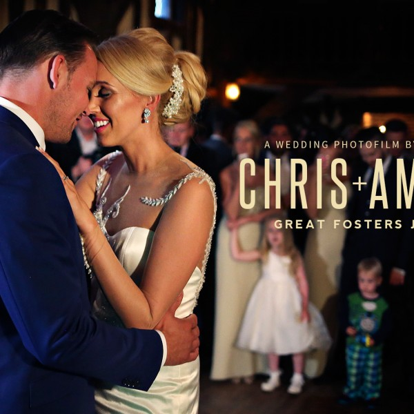 Great Fosters | Chris and Amanda's wedding