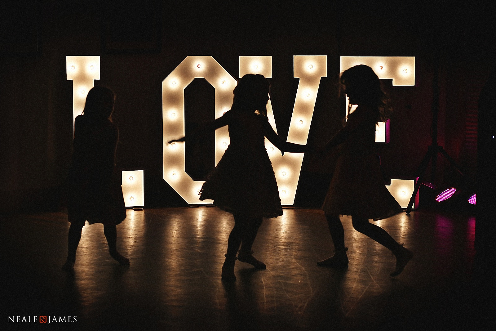 Colour picture of LOVE sign