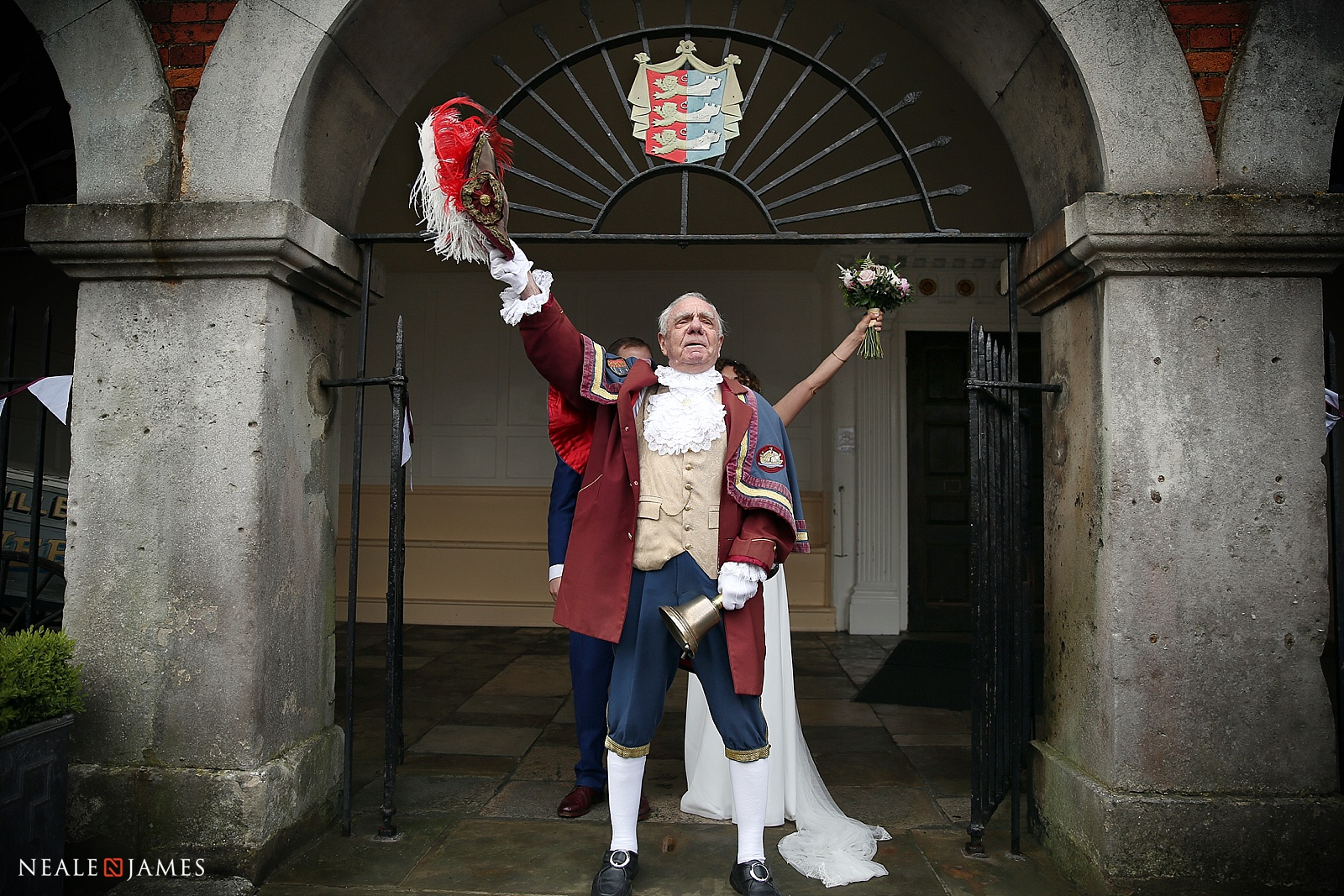 Picture of the town crier at Rye in East Sussex