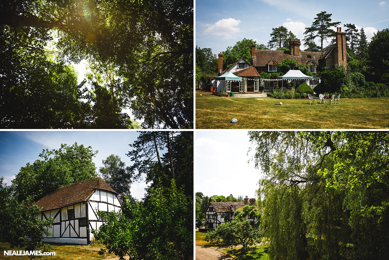 Colour photo of Ridge Farm wedding venue in Surrey