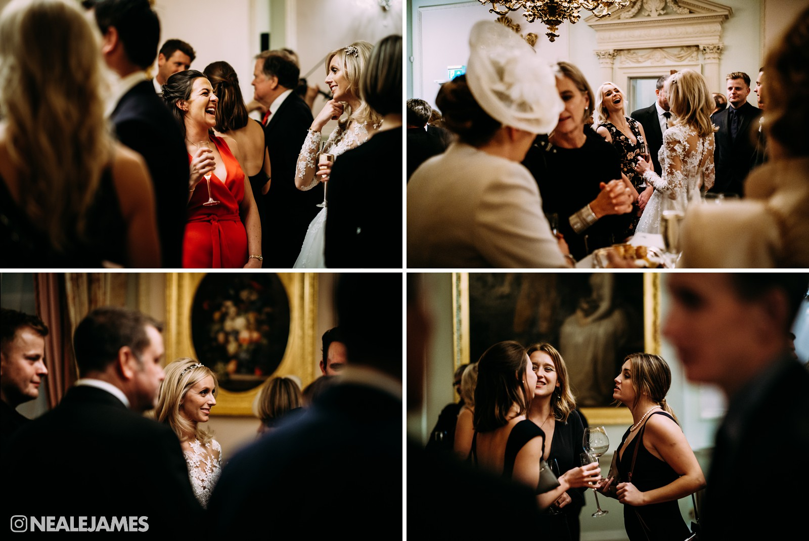 Picture of guests enjoying drinks during a reception at The Ritz