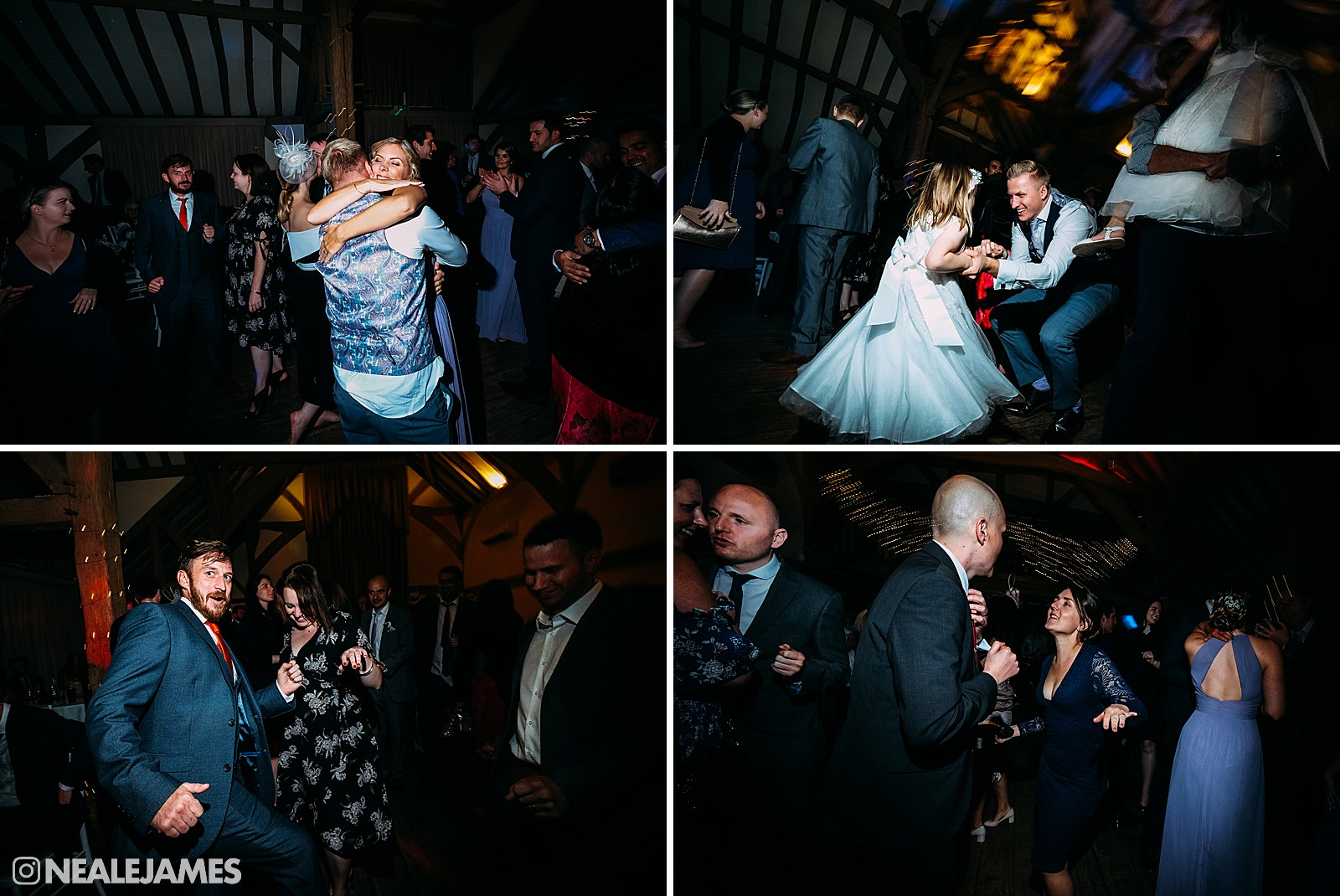 Dancing at a wedding party