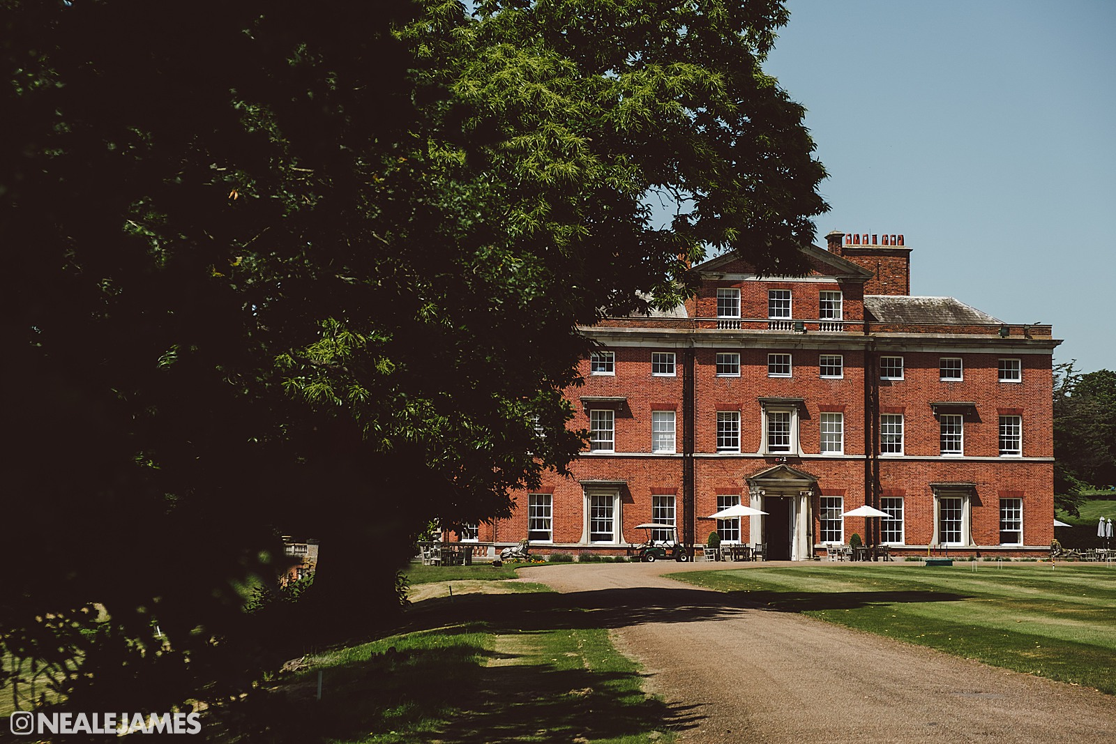 A colour picture of Brocket Hall